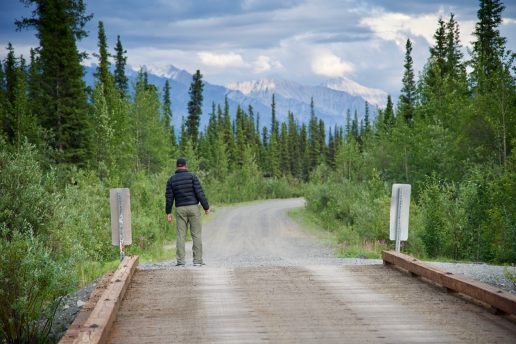 Bridge to Wrangel-St. Elias National Park