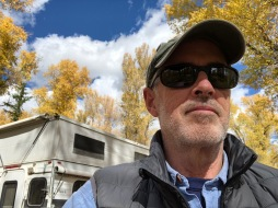 Happy camper at Gros Ventre Campground